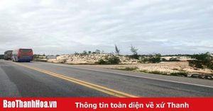 Đấu nối đường nhánh từ Khu thương mại dịch vụ tổng hợp và sửa chữa ôtô Đại Việt vào đường từ ngã ba Voi đi TP Sầm Sơn