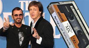 Cuốn băng cassette cực đắt của 2 cựu 'tứ quái' The Beatles