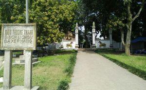 Miếu Thượng Thanh - Nơi thờ Đại nguyên soái Cai Công thời Hai Bà Trưng