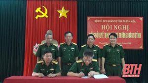 Công bố quyết định giải thể Trường Quân sự tỉnh Thanh Hóa