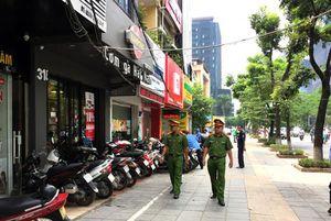Ra quân giải quyết trật tự đô thị phục vụ Đại hội Đảng bộ