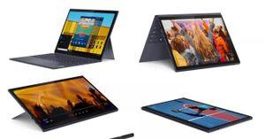 Lenovo ra mắt hai máy tính bảng kèm bàn phím bluetooth