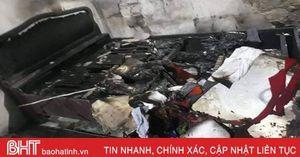 Đốt, phá đồ đạc nhà mẹ ruột, nam thanh niên Hà Tĩnh bị khởi tố, bắt giam