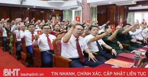 Sớm triển khai chương trình hành động, đưa Nghị quyết Đại hội Đảng bộ huyện Thạch Hà đi vào cuộc sống