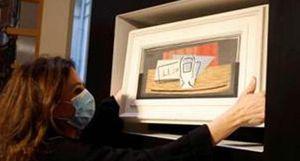 Mua vé xổ số trúng… tranh Picasso