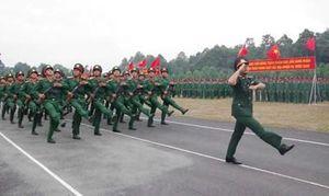 Các đơn vị tổ chức lễ tuyên thệ chiến sĩ mới