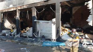 Một nạn nhân trong vụ cháy nhà ở Sài Gòn tử vong