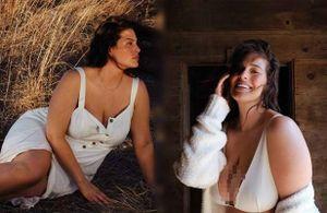 Đường cong 'gái một con' đẫy đà bốc lửa của mẫu ngoại cỡ Ashley Graham
