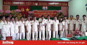Đại tá Lê Văn Ở tái đắc cử Bí thư Đảng ủy Công an TX. Tân Châu