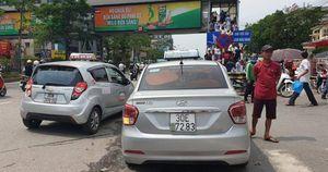 Hà Nội: Tài xế taxi 'hô biến' biển số để trốn phạt nguội