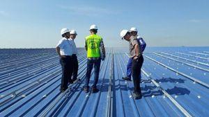 PC Quảng Ngãi thúc tiến độ dự án điện mặt trời tại Nhà máy May Vinatex Nghĩa Hành