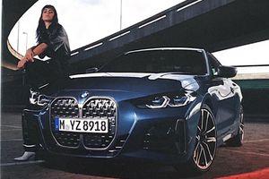 Lộ hình ảnh BMW 4 Series 2021 với lưới tản nhiệt khổng lồ