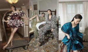 Thanh Hằng, Hà Hồ xuất hiện trên tạp chí Vogue Pháp trong trang phục Công Trí