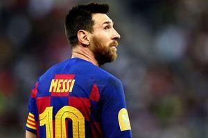 La Liga chưa trở lại, Barca đã nhận hung tin từ Messi