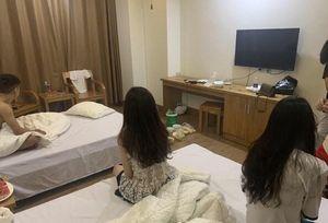 Ba cô gái trẻ cùng bạn trai 'mở tiệc' ma túy trong khách sạn