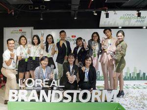 Công bố chiến thắng Vòng chung kết quốc gia Cuộc thi L'Oreál Brandstorm Việt Nam 2020