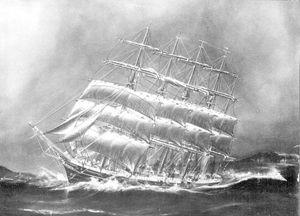 Bí ẩn về sự mất tích của con tàu buồm lớn nhất thế giới