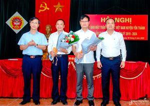 Hiệp thương bầu Chủ tịch Ủy ban MTTQ huyện Yên Thành