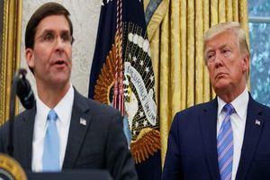Vì sao Tổng thống Trump định sa thải Bộ trưởng Quốc phòng Mỹ?