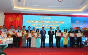 Công ty Yến sào Khánh Hòa tôn vinh các tập thể và cá nhân trong phong trào thi đua yêu nước