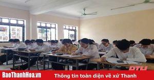 Thanh Hóa: Học sinh khối 12 dốc sức ôn luyện cho kỳ thi tốt nghiệp THPT