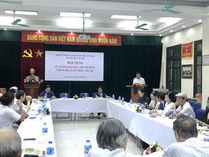 Tư tưởng đạo đức Hồ Chí Minh với nghệ sĩ sân khấu Thủ đô