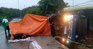 Xe tải tông nhóm công nhân, 1 người tử vong tại chỗ