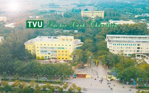 Trường ĐH Trà Vinh là đại học xanh đầu tiên ở ĐBSCL