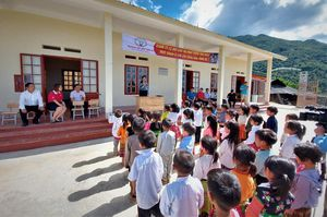 Quỹ Toyota Việt Nam hỗ trợ xây dựng trường học cho trẻ em vùng cao