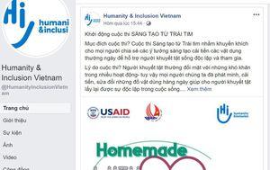 HI Việt Nam phát động cuộc thi 'Sáng tạo từ Trái tim' giúp người khuyết tật hạn chế khó khăn