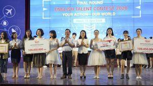 Chung kết cuộc thi tài năng Anh ngữ trong học sinh, sinh viên Thủ đô