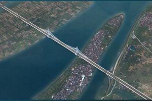 Cầu Tứ Liên - cây cầu dây văng vượt sông Hồng mang đậm yếu tố lịch sử - văn hóa Hà Nội