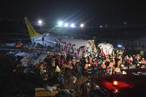 Những vụ máy bay trượt đường băng gây xôn xao