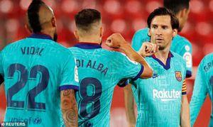 Barcelona đại thắng ngày trở lại