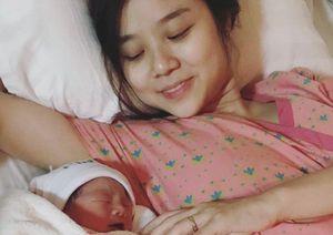 Vợ Hoài Lâm tiết lộ phải ra nước ngoài làm việc tới sát ngày sinh con