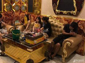 3 thanh niên 'phê' ma túy trong quán karaoke King ở Quỳnh Lưu