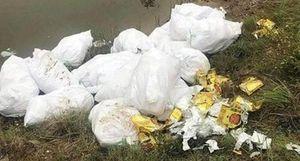 Lĩnh án vì mang gần 500kg ma túy đá đi… vứt