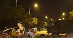 Danh tính 2 tài xế trong vụ 2 xe biển xanh tông nhau kinh hoàng tại Lào Cai