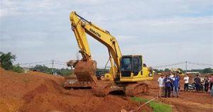 Vĩnh Phúc: Cưỡng chế thu hồi đất tại dự án chợ đầu mối nông sản
