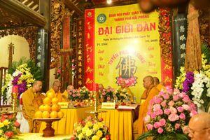 39 giới tử thọ giới tại Đại giới đàn Phật giáo Hải Phòng
