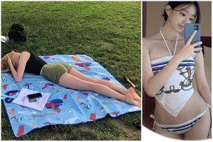 HLV gym Hàn Quốc khoe cơ thể nóng bỏng khiến fan 'say đứ đừ'