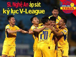 SL Nghệ An áp sát kỷ lục V-League; Hạt giống số 1 bị hạ