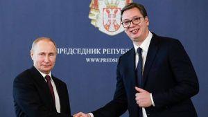 Serbia xác nhận 'đạo diễn' Putin trong ván bài Serbia-Kosovo