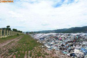 Bãi rác 'khổng lồ' gần quảng trường Hòa Bình không đúng quy hoạch