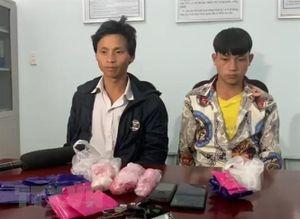 Bắt giữ hai đối tượng mua bán trái phép hơn 5.400 viên ma túy tổng hợp
