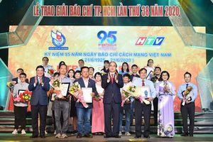 Trao giải báo chí TP Hồ Chí Minh lần thứ 38 năm 2020