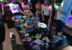 Kiểm tra phòng VIP, phát hiện 7 nam nữ đang 'phê' ma túy