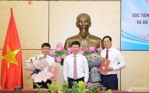 Thành lập và bổ nhiệm Giám đốc Trung tâm Xúc tiến Đầu tư, Thương mại và Du lịch tỉnh Nghệ An