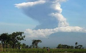 Núi lửa Merapi lại ''thức giấc''