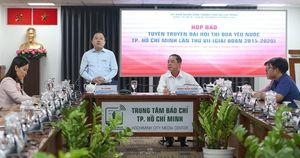 Khoảng 1.200 đại biểu dự Đại hội Thi đua yêu nước TP HCM lần VII